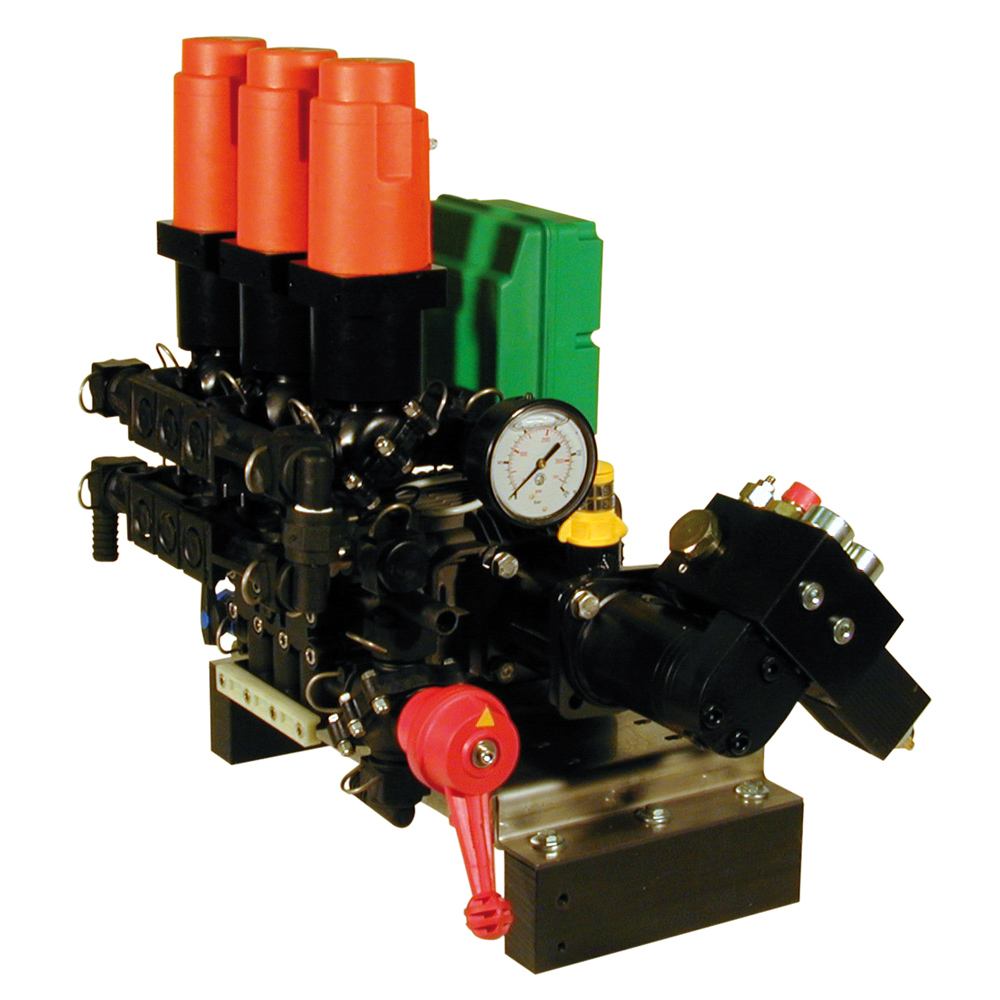 HYDRAULICALLY-DRIVEN IN-LINE INJECTION KIT