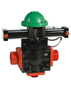 HYDRAULIC ACTUATOR FOR BALL VALVES