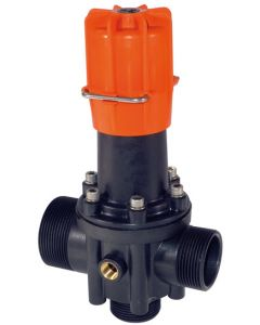 PRESSURE VALVE WITH LOCK POSITION