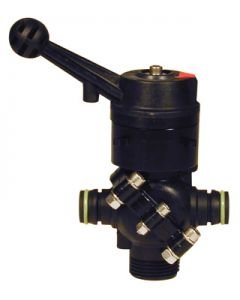 BALL VALVES WITH PLASTIC BODY